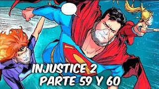 """INJUSTICE 2 """"TITANES Y LINTERNAS EN GUERRA"""" Parte 59 y 60 @SoyComicsTj"""