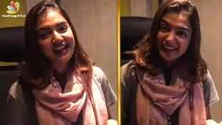 ആരാധകരോട് നന്ദി പറഞ്ഞു നസ്രിയ | Nazriya Nazim FB Live | Koode | Viral Video