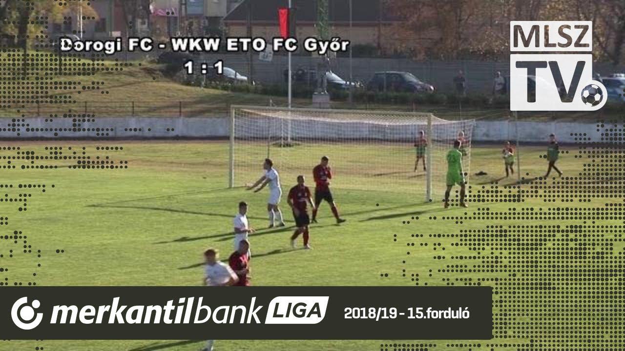 Dorogi FC - WKW ETO FC Győr | 4-3 (1-1) | Merkantil Bank Liga NB II.| 15. forduló |