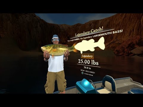 Rapala Fishing Pro Series Gameplay  : Where The Legendary Largemouth Bass Spawns On Lake Powell