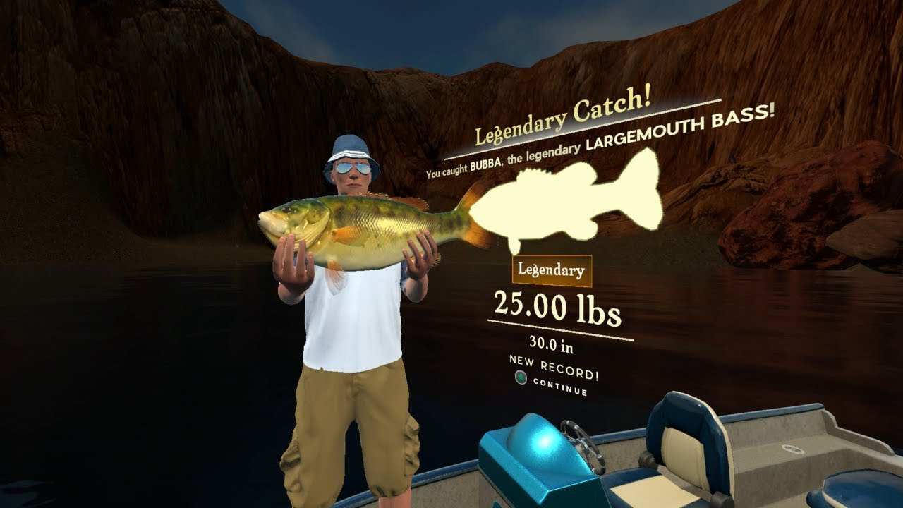 Rapala Fishing Pro Series Gameplay Where The Legendary Largemouth Bass Spawns On Lake Powell Youtube