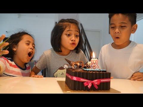 Happy Birtay Ayya ke-8 🎉 🎂 VLOG Cake Ulang Tahun Ayya  TheRempongs