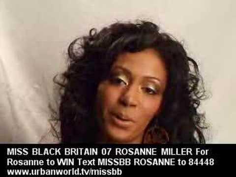 Urbanworld - Miss Black Britain 07 (Rosanne)