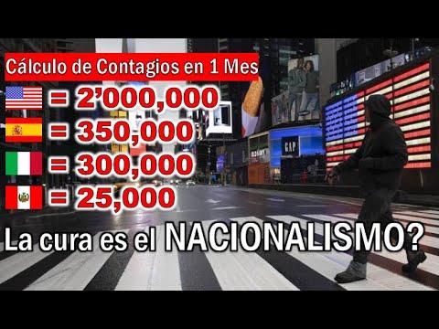 """MÁXIMO DE CASOS EN PERU SERIA 25,000, APLICANDO """"EL MARTILLO Y LA ..."""