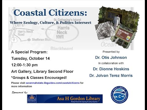 Coastal Citizens: Where Ecology, Culture and Politics Intersect