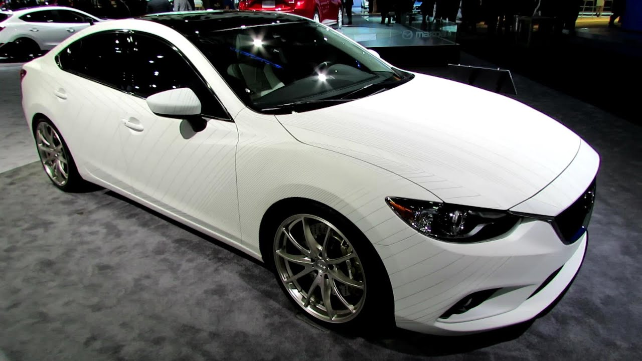 2015 Mazda 6 Clubsport Concept Exterior And Interior