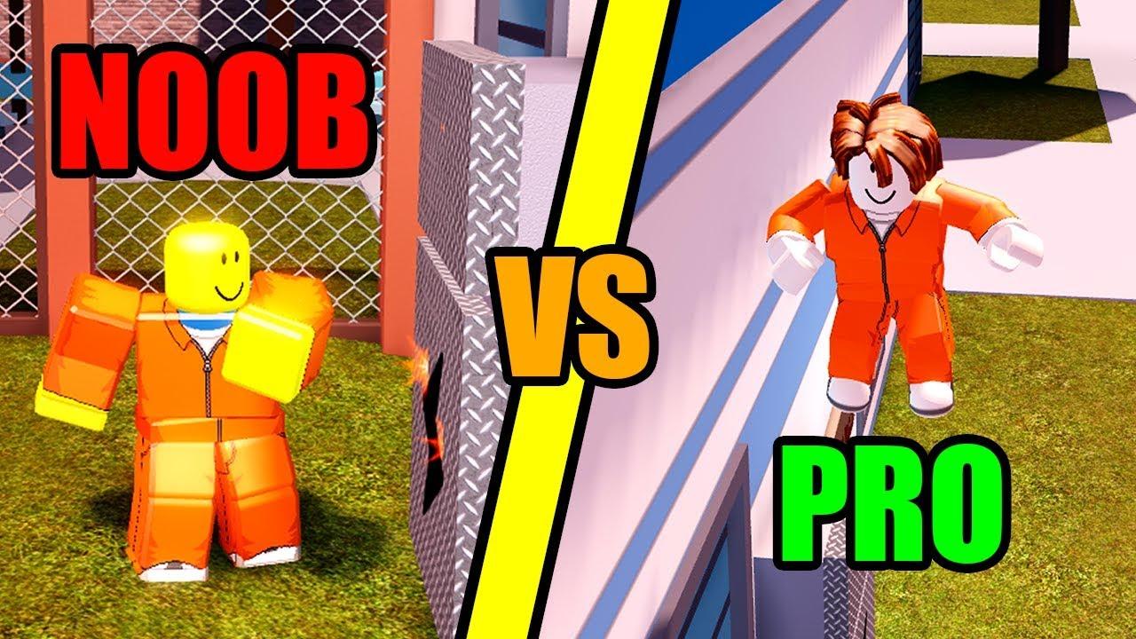 Noob Vs Pro W Dapandagirl Roblox Jailbreak Youtube - definition a noob roblox