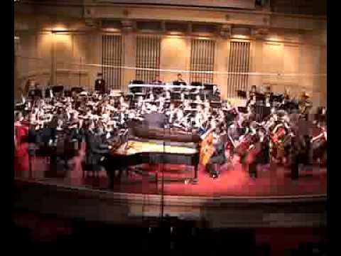 US premiere of Paul Juon's Triple Concerto part 1