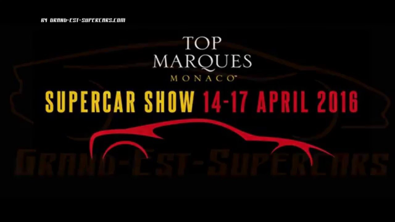 top marques monaco best luxury sport cars event in the world youtube. Black Bedroom Furniture Sets. Home Design Ideas