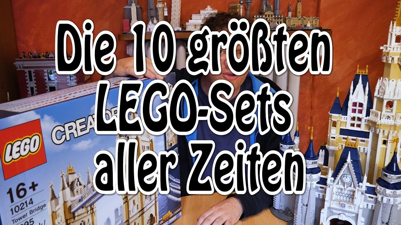 die 10 gr ten lego sets aller zeiten 4k youtube. Black Bedroom Furniture Sets. Home Design Ideas