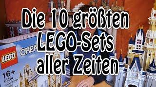 Die 10 größten LEGO-Sets aller Zeiten (4K)