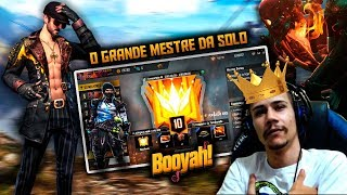 [ LIVE ON - FREE FIRE ]RUMO A TOP 10 GLOBAL SOLO E TOP 1 WINNS 🔥RUMO A #150K 🔥