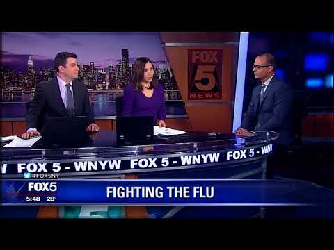 Holy Name Expert Talks Flu and Exercise Safety on WNYW
