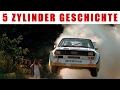 Die Geschichte des Audi 5 Zylinder Motors