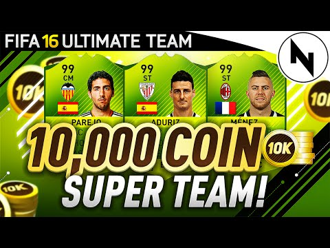 10,000 COIN SUPER TEAM!! - THE BEST TEAM IN FIFA! #22 - FIFA 16 Ultimate Team
