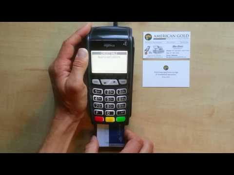EMV Transaction with American Gold Connect