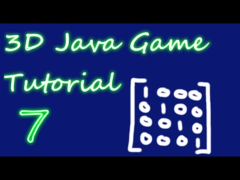 OpenGL 3D Game Tutorial 7: Matrices & Uniform Variables