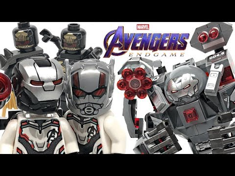 LEGO Avengers Endgame War Machine Buster review! 2019 set 76124!