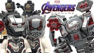 LEGO Avengers Endgame War Machine Buster review! 2019 set 76124!