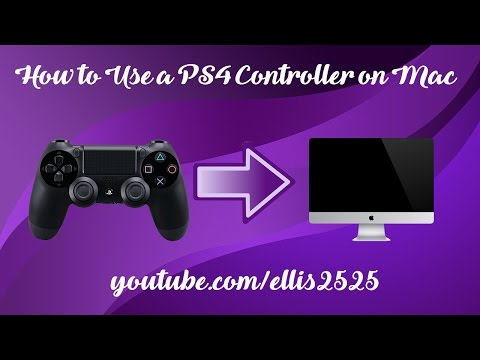 how to use ps4 controller on mac