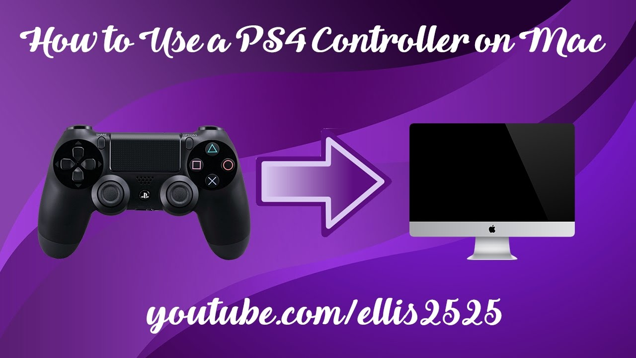 How to Use a PS4/Dualshock 4 Controller on Mac - MacOS Sierra