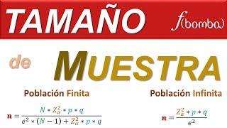 TAMAÑO DE MUESTRA PASO a PASO