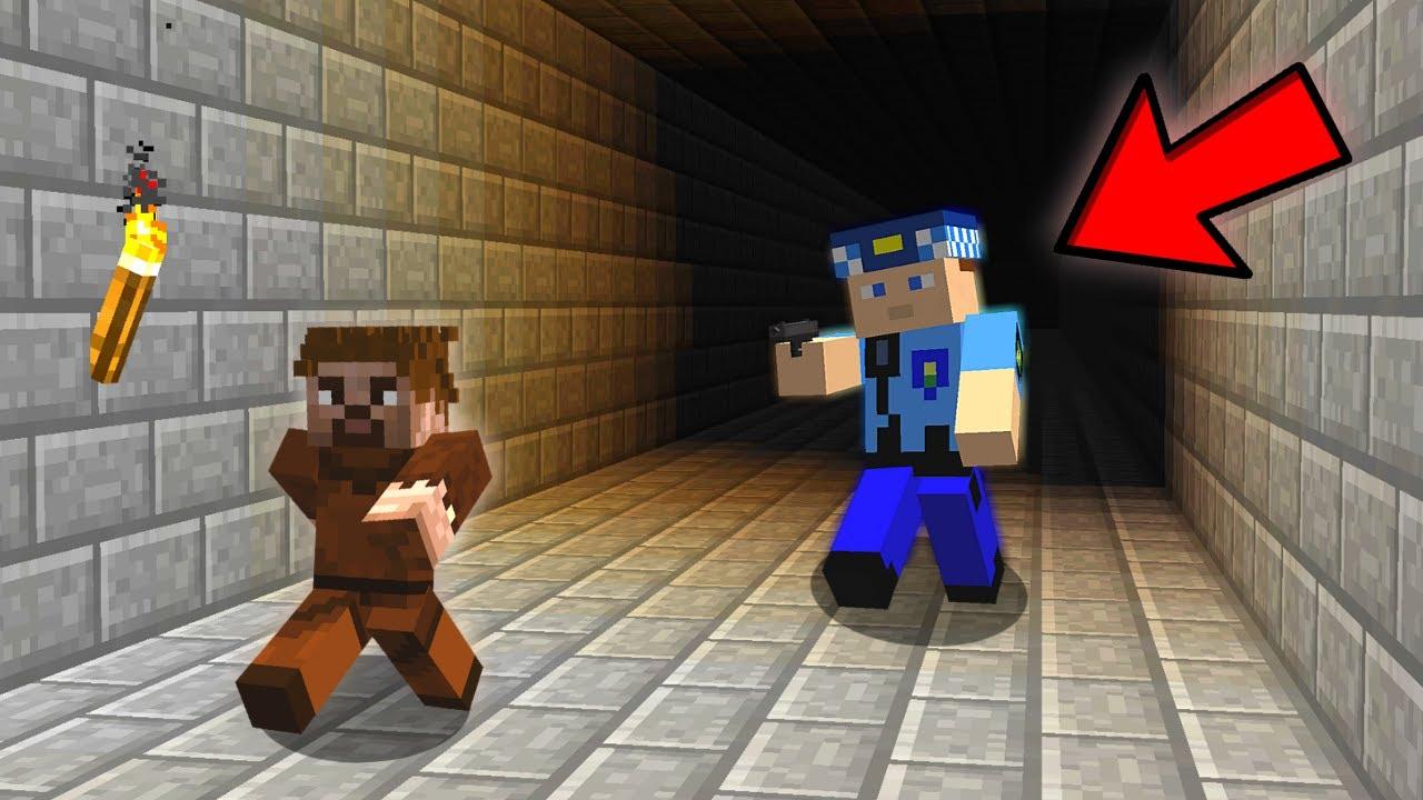 ARDA HAPSE GİRECEK POLİSTEN KAÇIYOR! 😱 - Minecraft