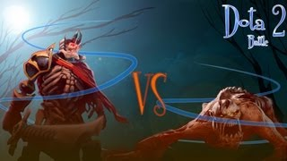 Dota 2 Battle - Lifestealer vs Skeleton King