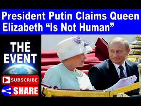 """Le Président Poutine clame haut et fort que la reine Elizabeth """"n"""