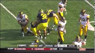 2012: Michigan 42 Iowa 17