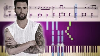 Download Lagu Maroon 5 - Girls Like You ft. Cardi B - Piano Tutorial + SHEETS Mp3
