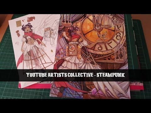 Trapped Bird- Youtube Artists Collective - Steampunk
