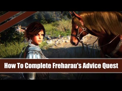 ★ Black Desert Online ★ How To Complete Freharau's Advice Quest