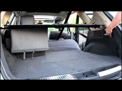 2012 Nissan Murano Platinum - Power Return Rear Seatback - Folding Cargo Organizer