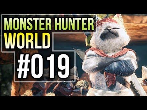 Monster Hunter World #019 🏹 Ich bin ein Eierdieb - Let's Play Monster Hunter World Deutsch