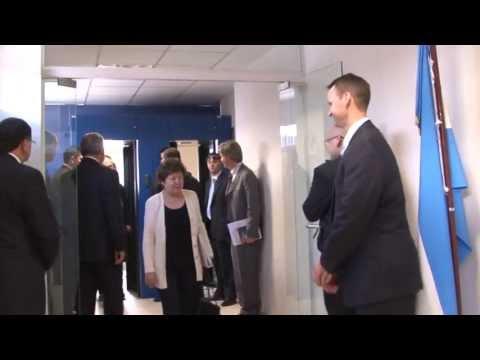 INTERPOL VIDEO REPORT - US Senators visit INTERPOL's Regional Bureau in Buenos Aires
