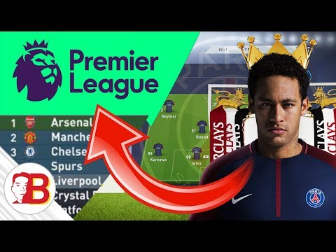 Could Neymar's PSG Win the Premier League? - FIFA 18 Experiment