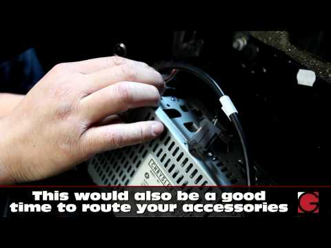 20022005 Chrysler Town & Country Stereo Removal and Bluetooth AUX iPod Install  GROM
