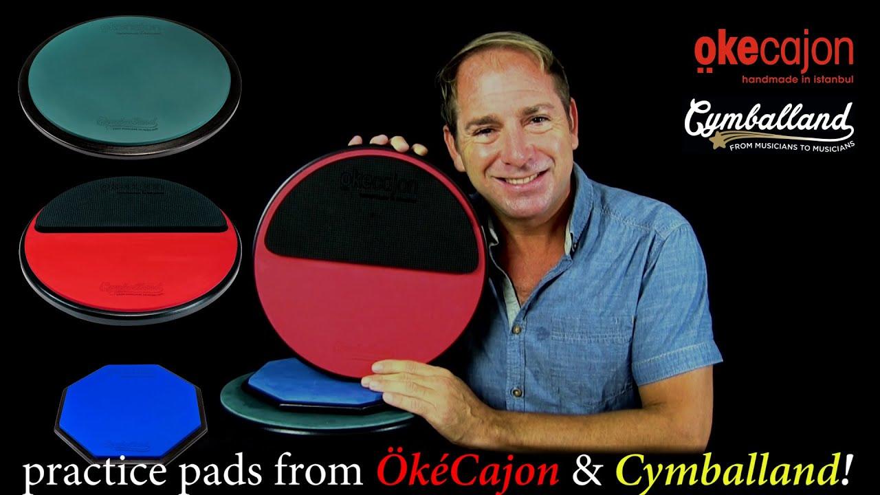 OkéCajon / Cymballand Practice Pads
