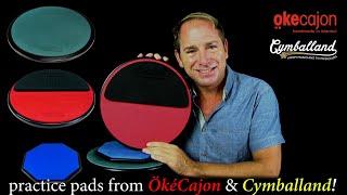 OkeCajon/Cymballand Practice Pads Short Demo
