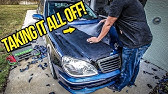 My $3,000 Mercedes S-Class Is Getting A MAJOR Plastidip Makeover!