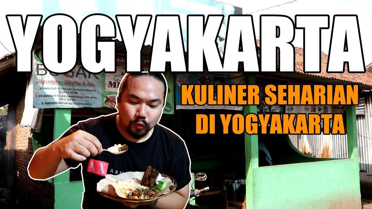 3 Makanan Wajib Coba Di Yogyakarta Youtube