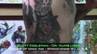 Dr. Numb Cream Review by ICONIC INK and GARY GRAY jr. - Skin Numbing Cream Thumbnail