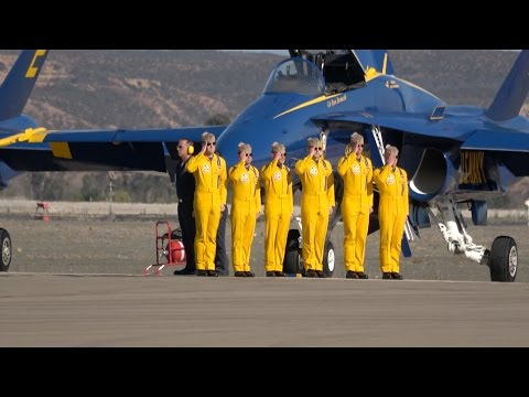 Blue Angels Saturday Performance .. Miramar Airshow 2016 (4K)