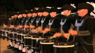 Swiss Top Secret Drum Corps 2012 Performance at the Edinburgh Castle