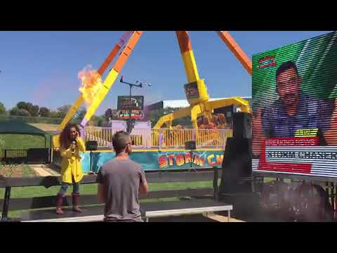 Gold Reef City >> Watch The Beginning Of The Launch Of The Storm Chaser Gold Reef