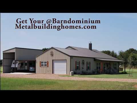 Barndominium/shop combination