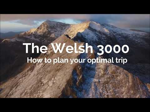Welsh 3000 - How to plan your attempt