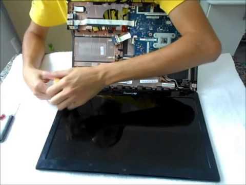 Desmontando Gateway NV55C - 1º parte