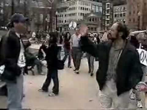Anti War Rally at Boston Common, March 2003